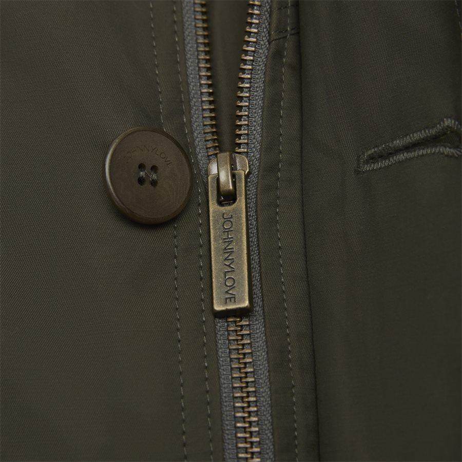 COHEN 001B - jakke - Jakker - Regular fit - DARK OLIVE - 7